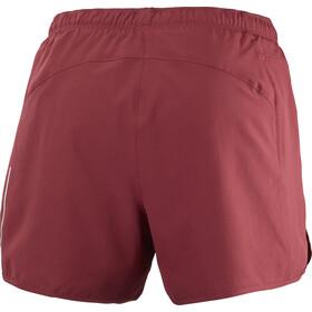 Salomon Agile Pantaloncini Donna, rosso